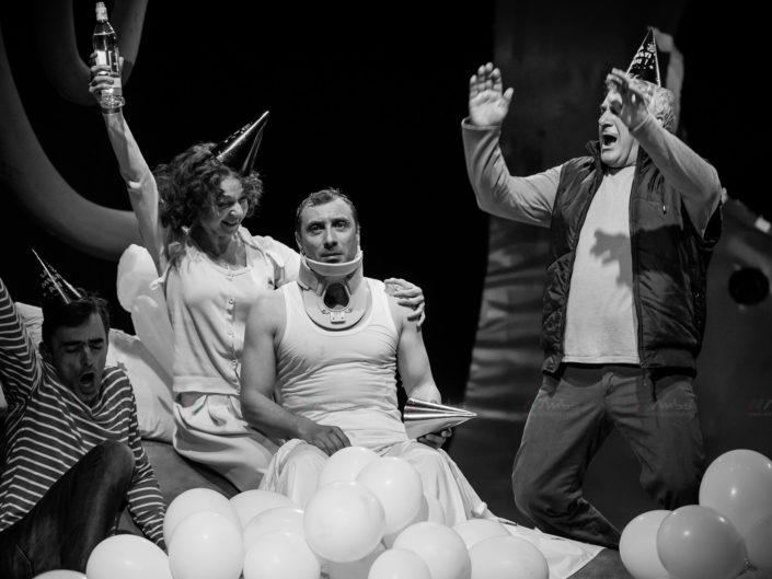 Teaterul Nottara - Somnambulism - Fotografie de teatru